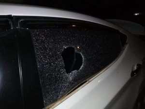 Leader Of Free Media Vanguard Car Vandalized After Demo