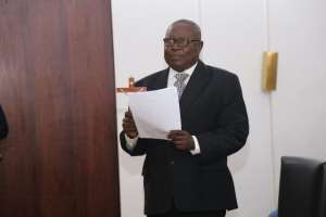 Martin Amidu is Ghana's first Special Prosecutor
