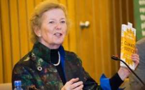 Mary Robinson, former president of Ireland and UN Special Envoy on El Niño and Climate