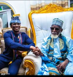 Freedom Jacob Caesar Visits Chief Imam