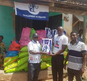 Krachi West NPP Candidate And DCE Support Muslim Communities