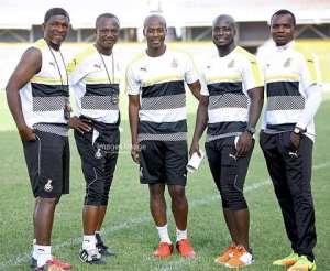 From Left to Right: Kwasi Appiah, Stephen Appiah, Ibrahim Tanko, Richard Kingson and Maxwell Konadu