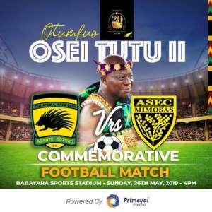 Palmer, Okraku Supports Otumfuo Cup Match