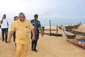 Keta MCE Tours Beach To Ensure Compliance With Closed Fishing Season