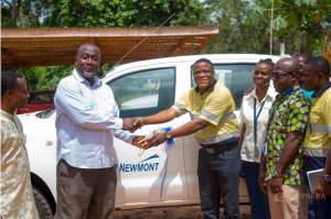 Birim North: Newmont Goldcorp Ghana's Akyem Mine Collaborates To Promote Security