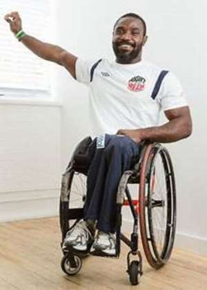 Raphael Botsyo Nkegbe for Tokyo 2020 Paralympic Games
