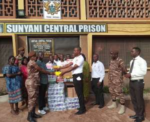 SDA Men's Ministry Donates To Sunyani Prisons