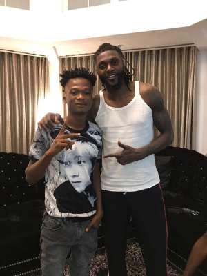 Remember Those Struggling To Support You Now When You Make It— Adebayor Advises Imrana