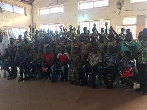 Rural Smile Foundation, Youth Alert Network Marks Menstrual Hygiene Day At Nkwatia Presby SHS