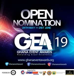 Ghana Event Awards '19: Nominations Officially Open