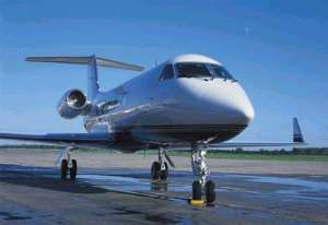 Presidential Plane Still Stands idle