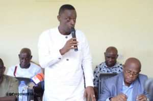 Western Regional Minister, Kwabena Okyere Darko Mensah