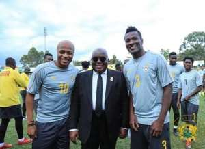 Dede Ayew Assures Akufo-Addo Black Stars' Readiness For 2019 AFCON