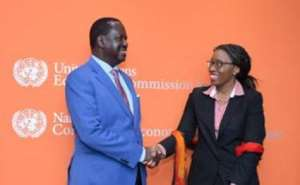 Songwe and Odinga discuss benefits of fast-tracking Africa's transboundary infrastructure