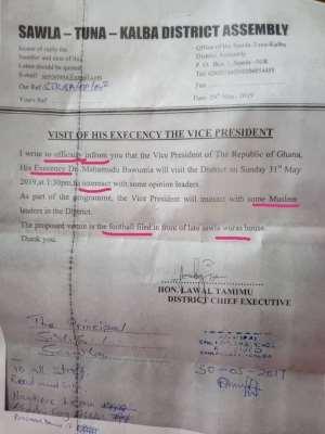 Sawla-Tuna-Kalba DCE Forced To Resign Over Error-Ridden Letter