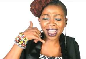 Azizaa in her Leave Me Alone (Ga de fu nam o) video