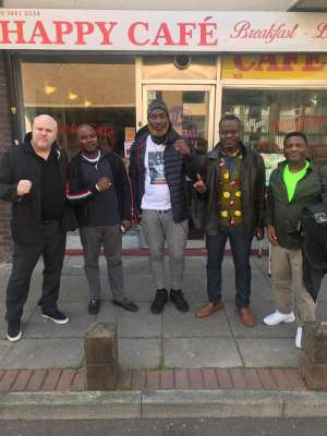 Lartey Eager To Fight Derick Chisora At The O2 Arena London