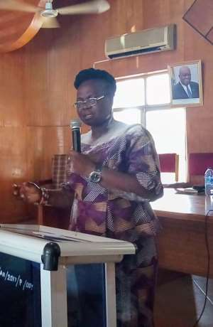 Justina Owusu-Banahene Is New MCE For Sunyani