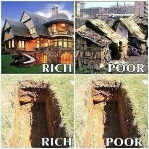 Rich Or Poor: We Will Leave Everything Behind