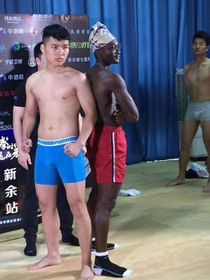 Gerald Dah And Zhou Xhianning Weigh In For Contest In China