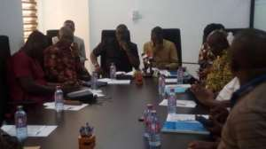 A cross section of a sitting of the Parliamentary Select Committee on Mines and Energy
