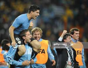 2010 WC: Luis Suarez Reveals Why He Celebrated After Asamoah Gyan Missed Spot Kick Against Uruguay