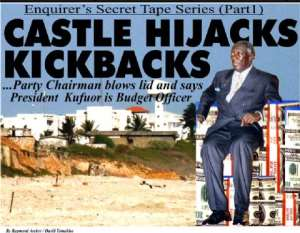 Castle in crisis over kickback scandal