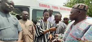 MP Donates Ambulance, Medical Accessories To Kalba Hospital