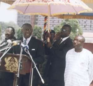 Kufuor addresses People's Assembly