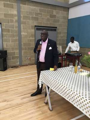 His Excellency Papa Owusu-Ankomah, Ghana's High Commissioner to the UK and Ireland