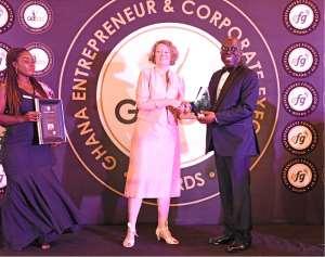 SSNIT Boss Grabs Top Award