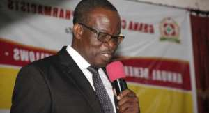 Mr. Benjamin Botwe, President of Pharmaceutical Society of Ghana