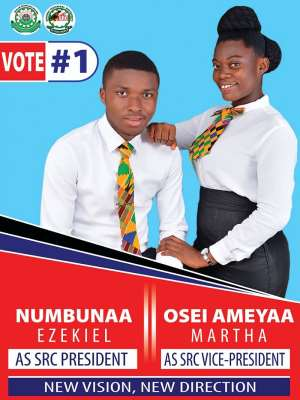 Sunyani Technical University Gets First Ever Female SRC Vice President