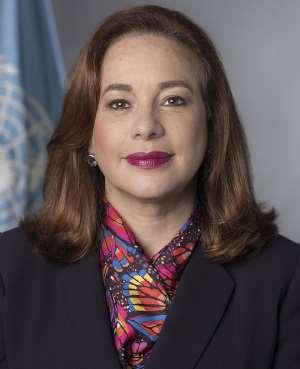 H. E. María Fernanda Espinosa Garcés