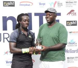 GTF President Commends McDan ITF World Tour In Ghana