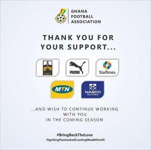 Coronavirus: Ghana Football Season In Limbo FA Thank Sponsors?