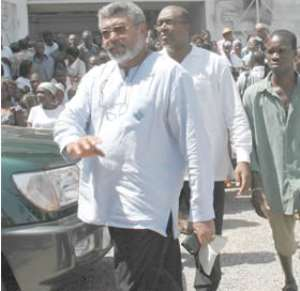 Rawlings, Victor Smith, Bodyguards Fingered
