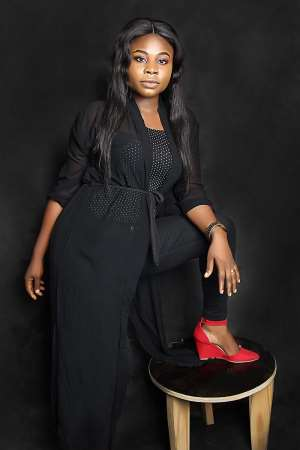 Celebrated Nigerian female Model