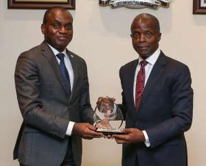 African Court President and Nigerian Vice President