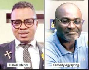 Obinim And Ken Agyapong Engages In Spiritual Battle