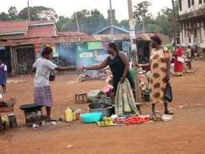Informal economy in Africa (courtesy Grandmother Africa)