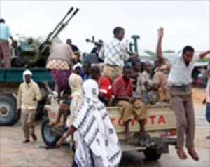 Fighting rages outside Mogadishu