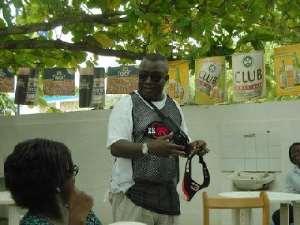 Kofi Wayo Provides Comic Relief