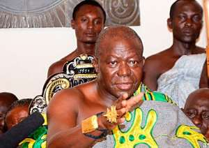 Asantehene wants Ghana's Black Stars to remain purposeful