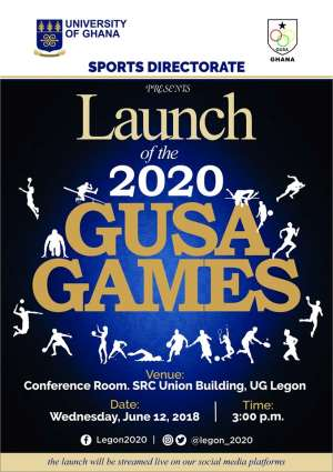 Launch Of 2020 GUSA Games To Take Place On June 12