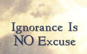 Ignorance Or Rightful Judgement?