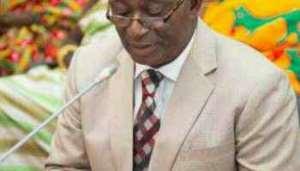Member of Parliament for Asante Akim Hon Andy Appiah Kubi