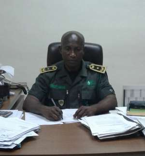 Eastern Regional Director of the Forestry Commission, Mr. Isaac Adonteng