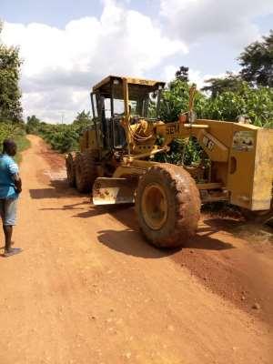 Amenfi Central DCE Reshapes Jedua Kesse Road