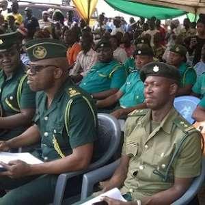 Ghana immigration officers- photo credit: Media Ghana